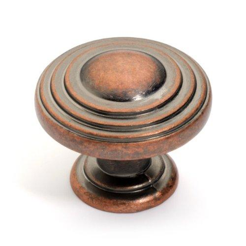 Dynasty Hardware K-3118-AC Newport Cabinet Knob Antique Copper