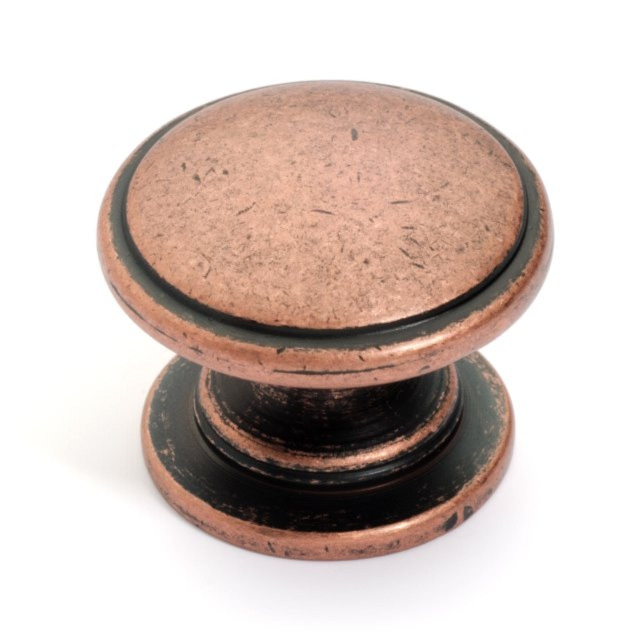 Dynasty Hardware K-80980-AC Cabinet Knob Antique Copper