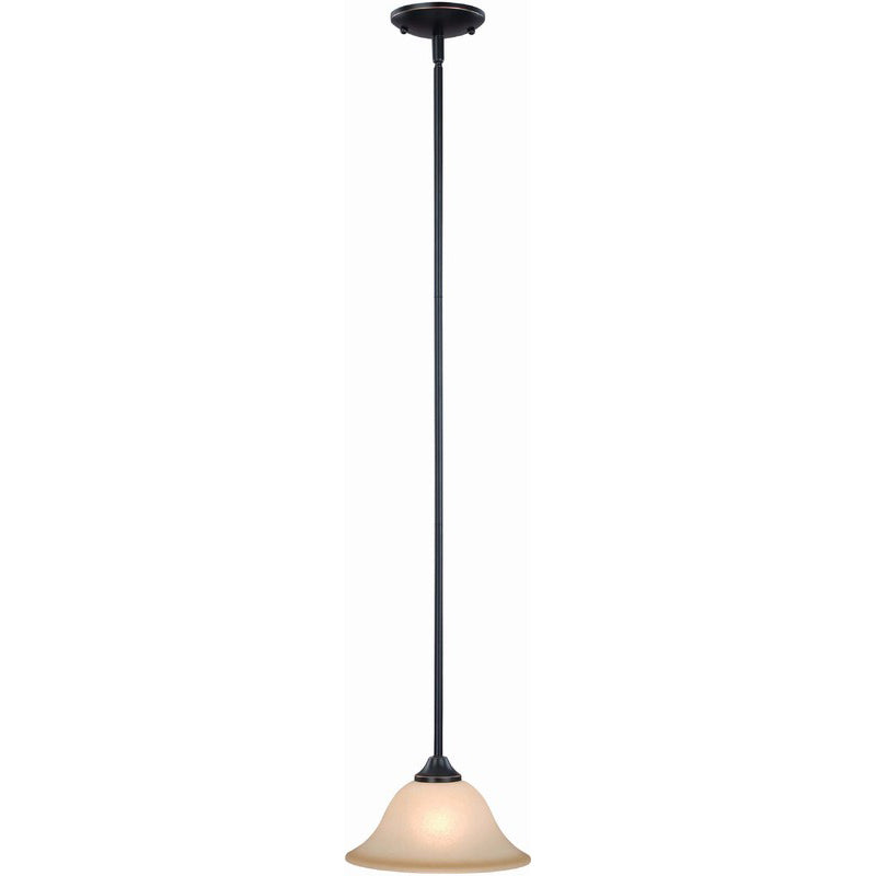Dover Series Oil Rubbed Bronze Mini-Pendant Light Fixture