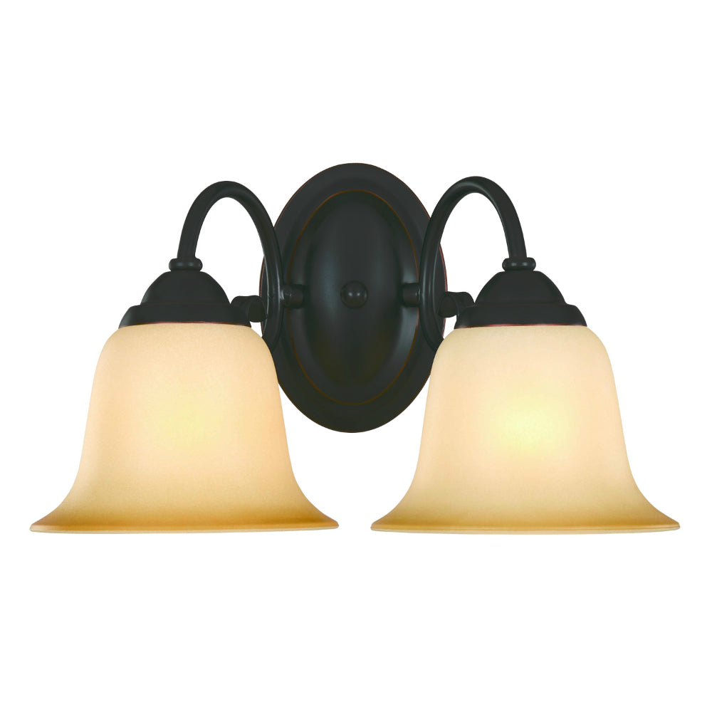 Essex Series Oil Rubbed Bronze 2 Light Wall Sconce