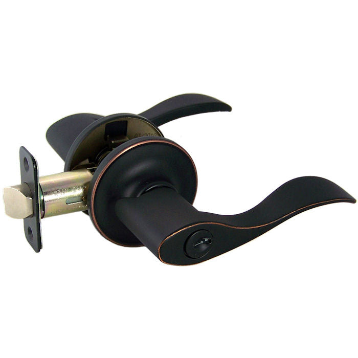 Kingston Entry Lever, Oil Rubbed Bronze