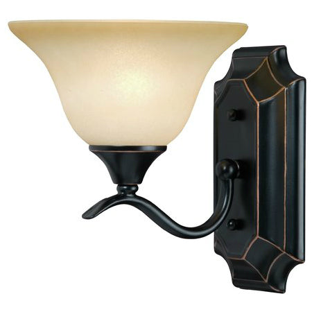 Dover Series Oil Rubbed Bronze 1-Light Wall Sconce