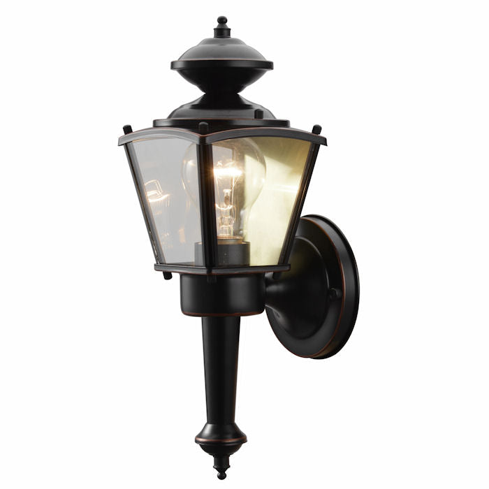 Oil Rubbed Bronze Outdoor Patio / Porch Exterior Light Fixture : 19-1715
