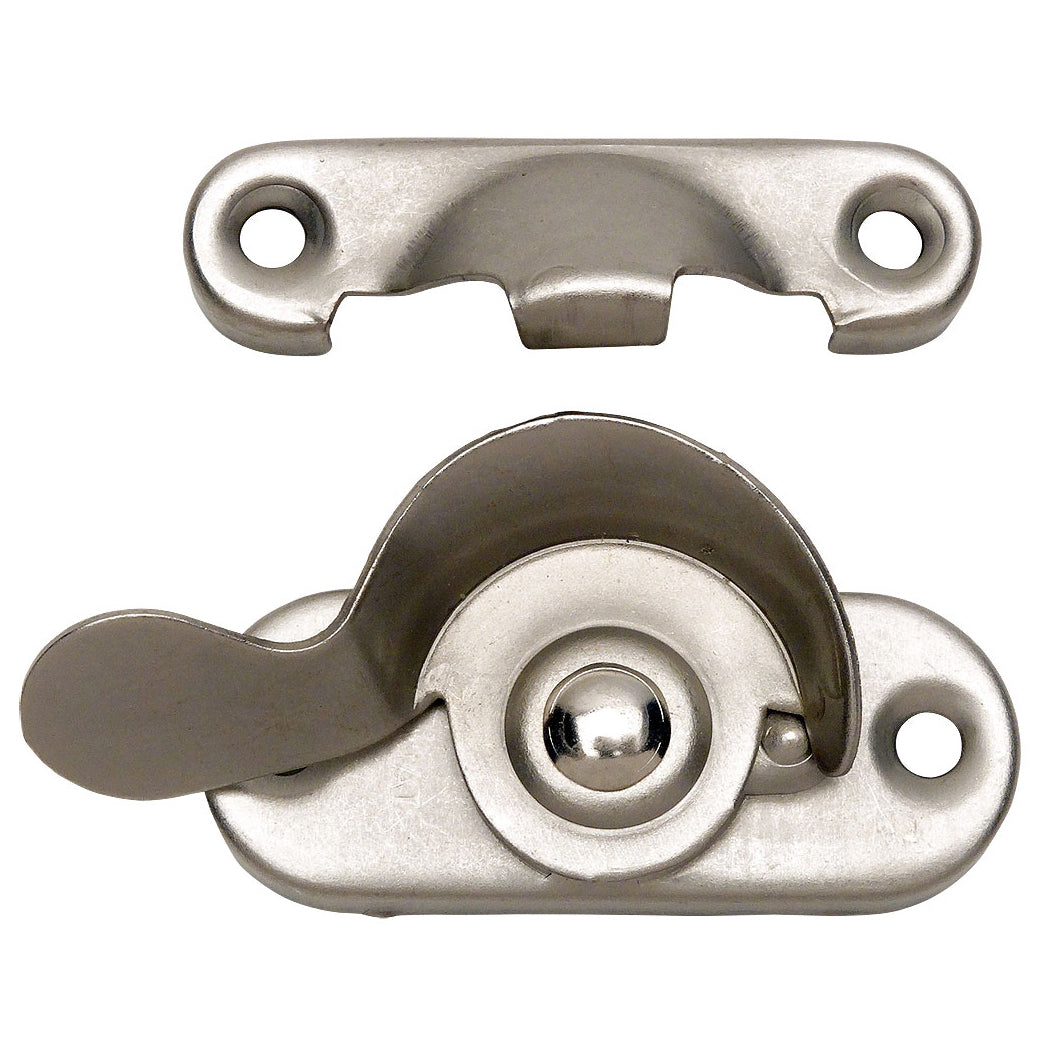 Window Lock, Satin Nickel