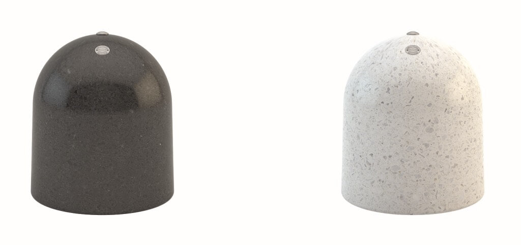 stone bollards italy designer terrazzo street furniture outdoor