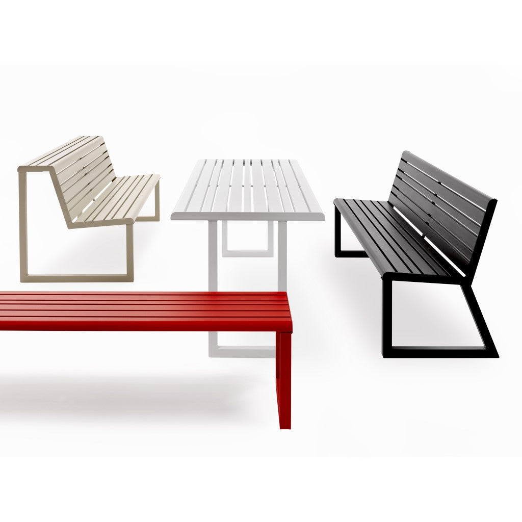outdoor park furniture modern colour street furniture