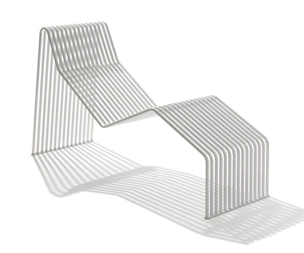 white metal outdoor chaise lounge chair furniture