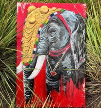 "Load image into Gallery viewer, ""Elephant Festival"" Print"