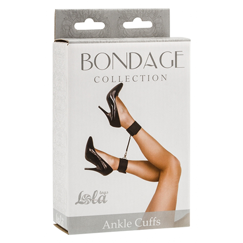 LOLA Ankle Cuffs Black - The Chocolate Men Adult Store