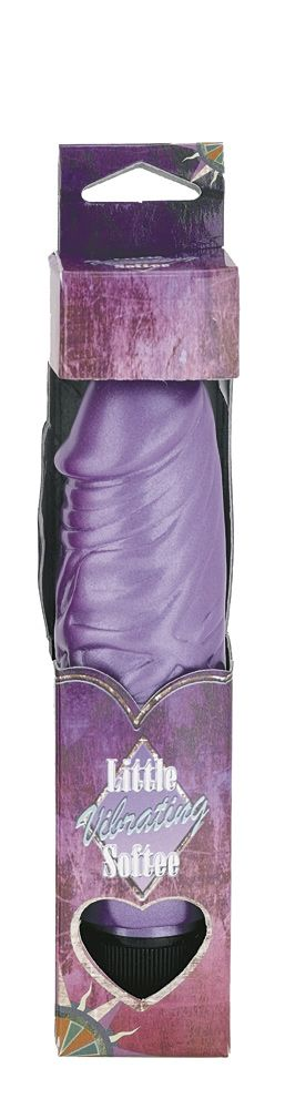 Nanma Little Softee Veined Vibe Purple 5in - The Chocolate Men Adult Store
