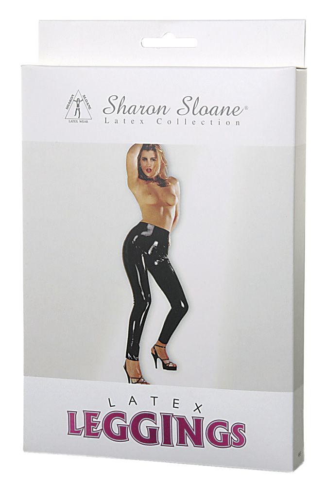 Sharon Sloane Latex Leggings Black M/L - The Chocolate Men Adult Store