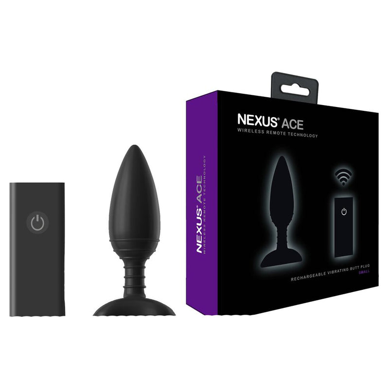 Nexus Ace Remote Control Black Small - The Chocolate Men Adult Store
