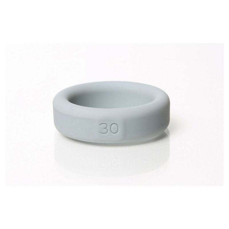 Boneyard Silicone Ring Grey 30mm - The Chocolate Men Adult Store