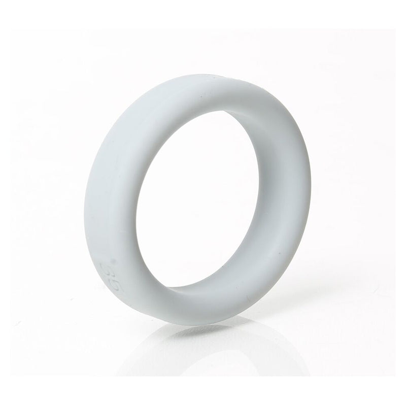 Boneyard Silicone Ring Grey 35mm - The Chocolate Men Adult Store