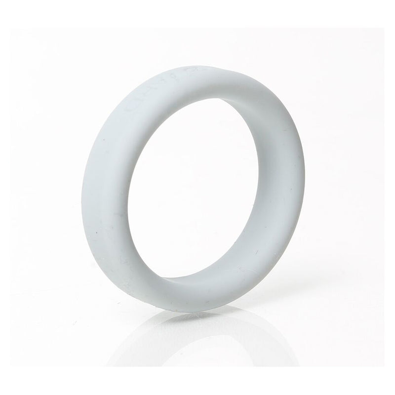 Boneyard Silicone Ring Grey 40mm - The Chocolate Men Adult Store