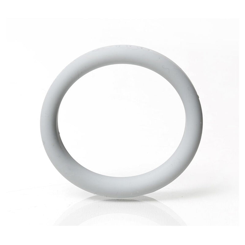 Boneyard Silicone Ring Grey 45mm - The Chocolate Men Adult Store