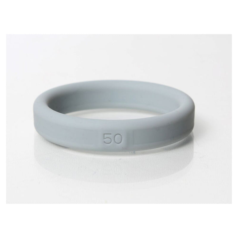 Boneyard Silicone Ring Grey 50mm - The Chocolate Men Adult Store