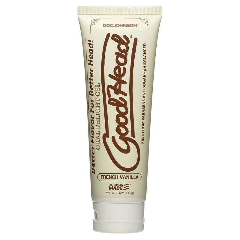 Goodhead Oral Delight French Vanilla 4oz - The Chocolate Men Adult Store