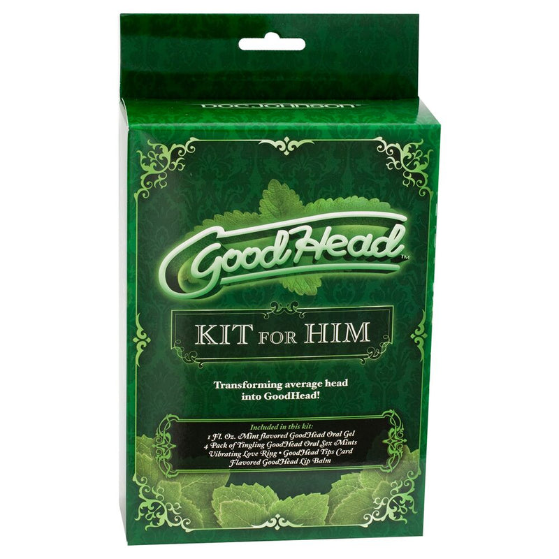 Goodhead Kit For Him - The Chocolate Men Adult Store