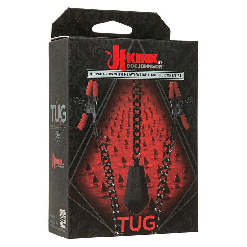 KINK Tug Black/Red - The Chocolate Men Adult Store