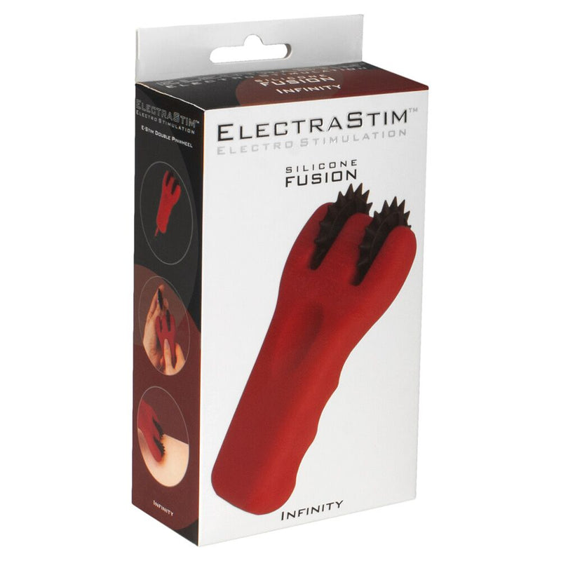 ElectraStim Fusion Infinity Red - The Chocolate Men Adult Store