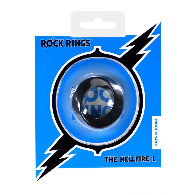 Rock Rings The Hellfire Black - The Chocolate Men Adult Store