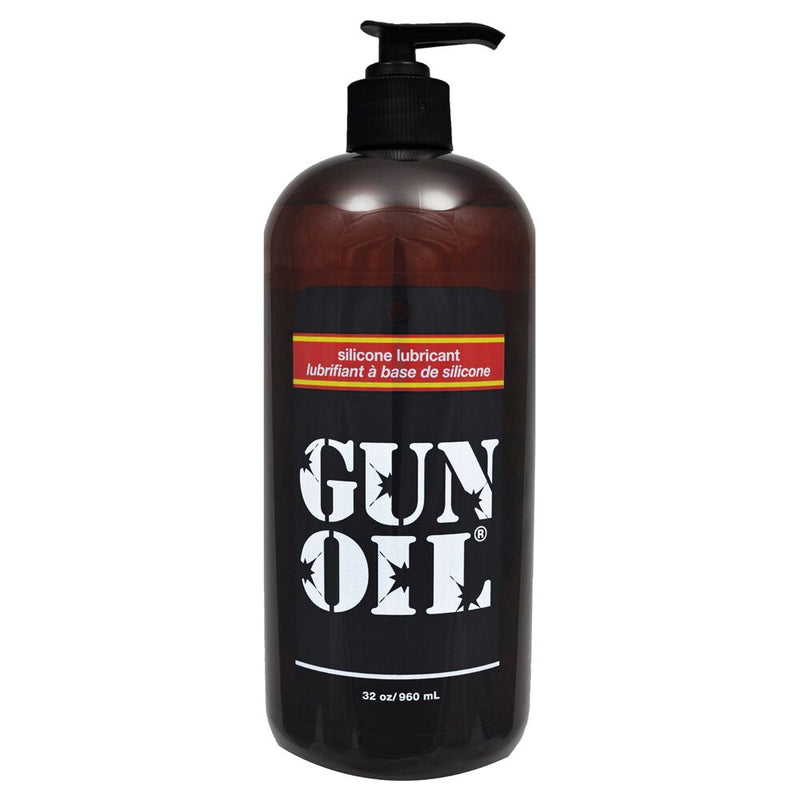 Gun Oil Silicone Transparent 32oz - The Chocolate Men Adult Store