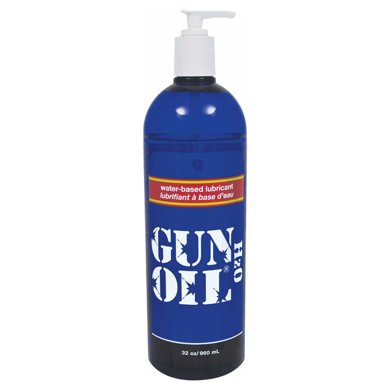 Gun Oil H2O Transparent 32oz - The Chocolate Men Adult Store