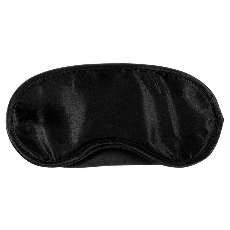 Kinx Tease And Please Padded Blindfold Black - The Chocolate Men Adult Store