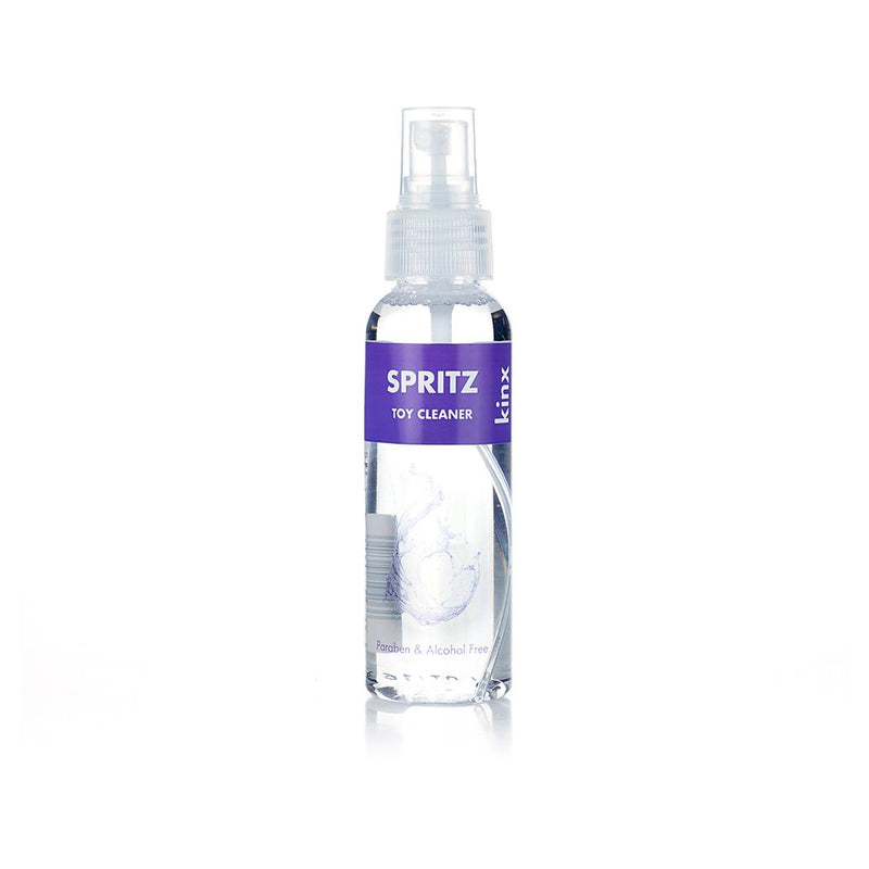 Kinx Spritz Toy Cleaner Spray Transparent 100ml - The Chocolate Men Adult Store