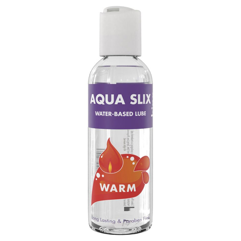 Kinx Aqua Slix Warming Water-Based Lubricant Transparent 100ml - The Chocolate Men Adult Store