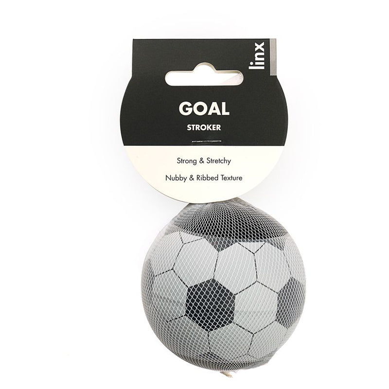 Linx Goal Stroker Ball Clear/Black - The Chocolate Men Adult Store