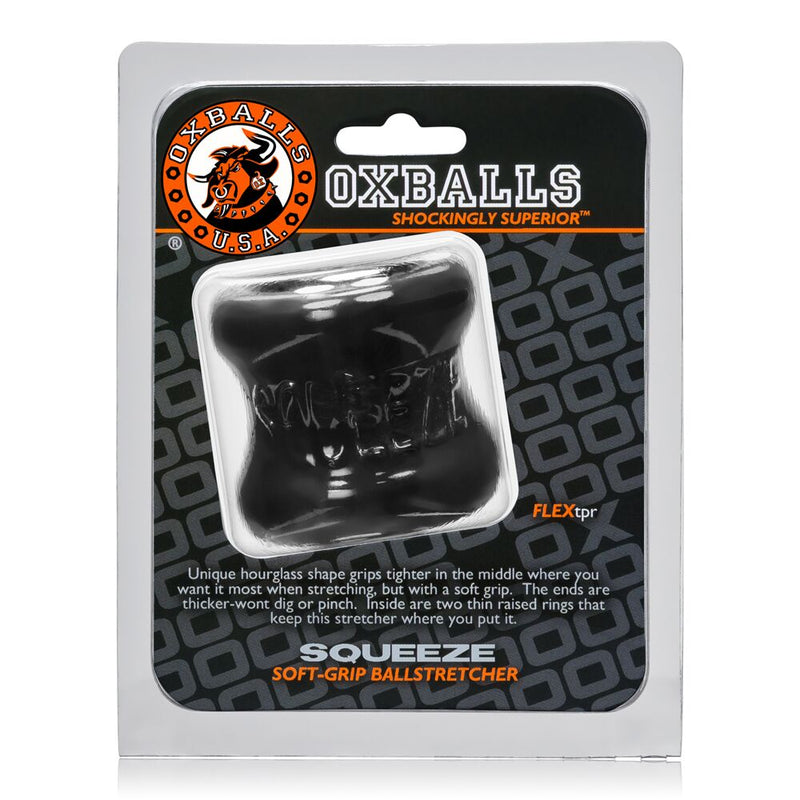 Oxballs Squeeze Black - The Chocolate Men Adult Store