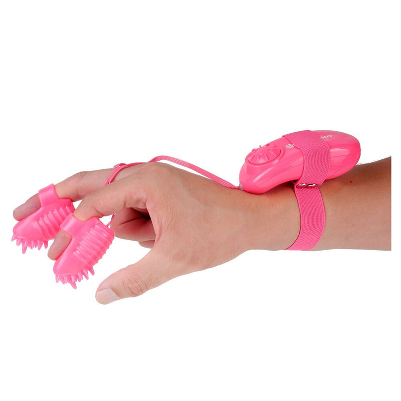 Neon Magic Touch Finger Fun Pink - The Chocolate Men Adult Store