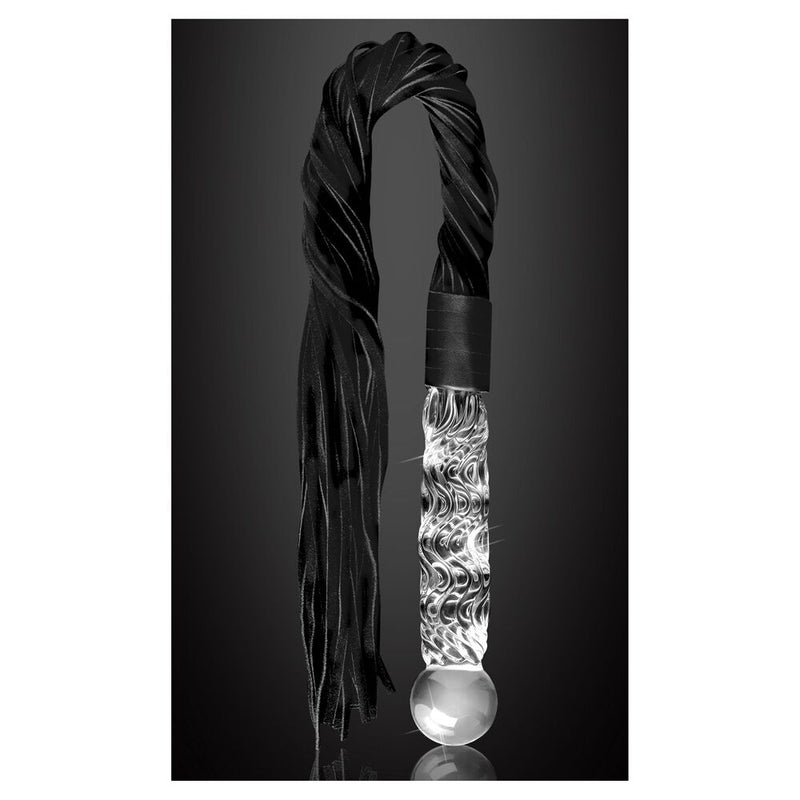 Icicles No.38 Transparent 8.5in - The Chocolate Men Adult Store
