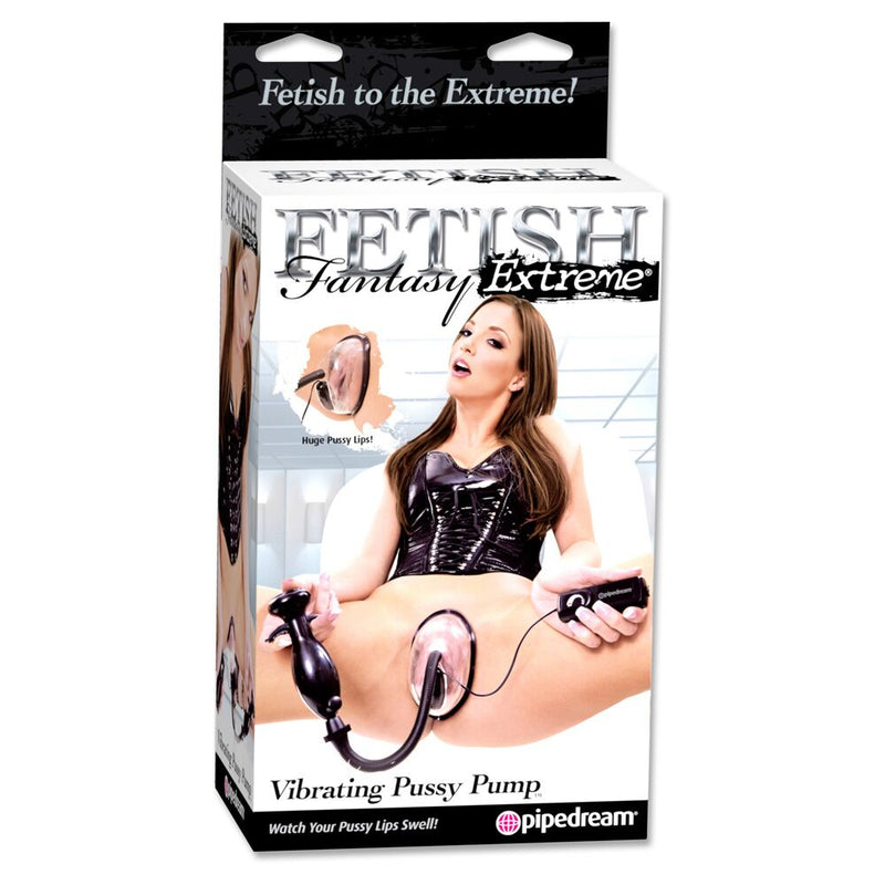 Fetish Fantasy Extreme Vibrating Pussy Pump Transparent - The Chocolate Men Adult Store