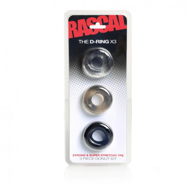 Boneyard The D-Ring X3 Multi - The Chocolate Men Adult Store