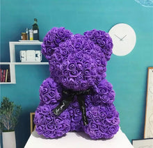 Load image into Gallery viewer, Rose Bear - 16 inch