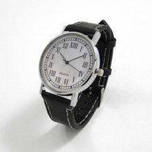 Load image into Gallery viewer, 13 Hour Black Leather Wrist Watch - TheExCB