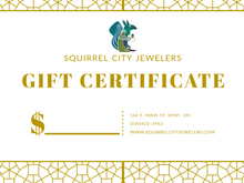 Load image into Gallery viewer, Squirrel City Gift Card