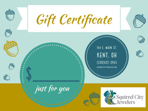 Squirrel City Gift Card