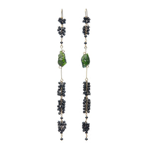 Voyageuse Collection Pennata Dangle Earrings