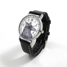 Load image into Gallery viewer, Raven King Black Leather Wrist Watch - TheExCB