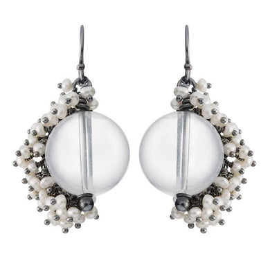 Undina Collection Venus Large Drop Earrings