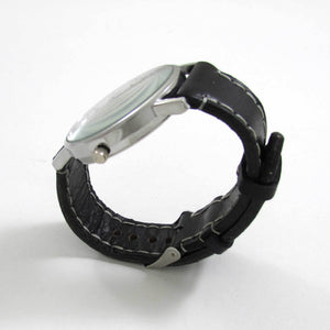 Raven King Black Leather Wrist Watch - TheExCB