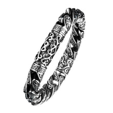 Load image into Gallery viewer, Steel Oxidized Gothic Bracelet
