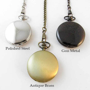 Antiqued Pocket Watch - TheExCB