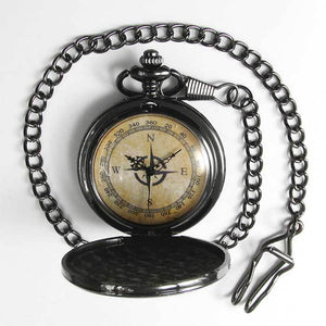 Compass Pocket Watch - TheExCB