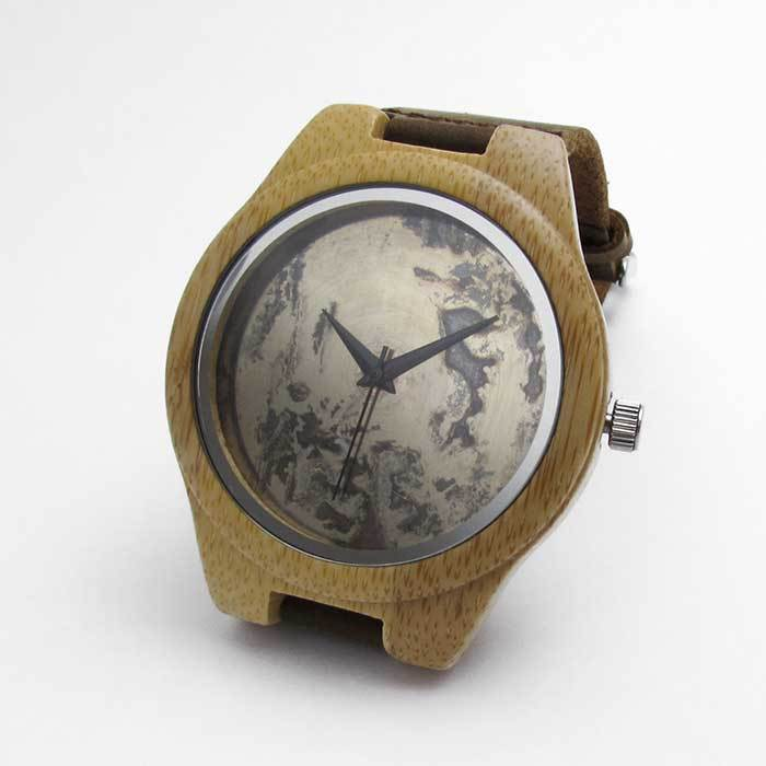 Bamboo Watch w/ Metal Dial - TheExCB