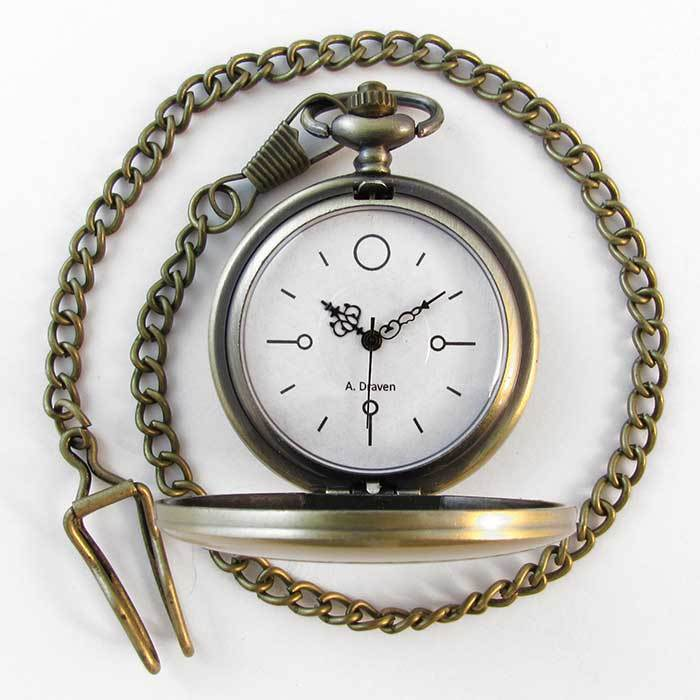 Minimal Pocket Watch 02 - TheExCB